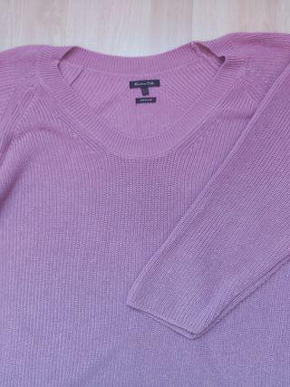 Jersey rosa MASSIMO DUTTI talla M