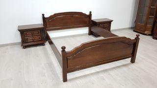 Dormitorio Rustico de Roble