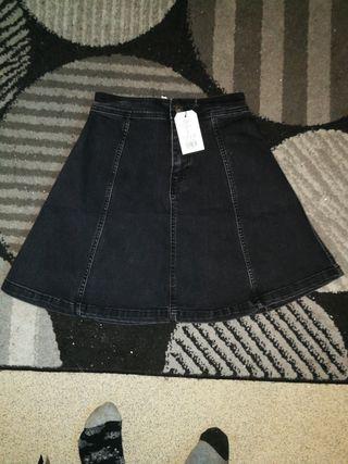 women's jeans skater skirt 2019