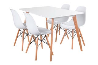 Set Mesa 120cm + 4 sillas(envio gratuito)