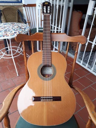 Guitarra clásica Alhambra 2C Cedro. Muro de Alcoy