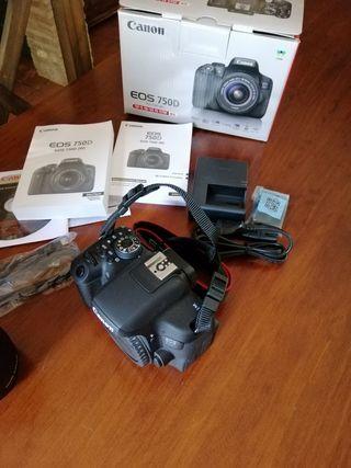 Canon Eos 750D+grip