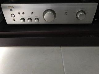 Amplificador integrado denon pma500ae + bluetooth