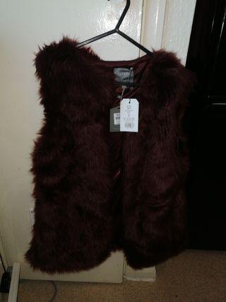 burgandy fur fuax garnet