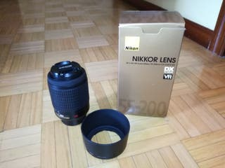 Objetivo Nikon Nikkon 55-200 impecable