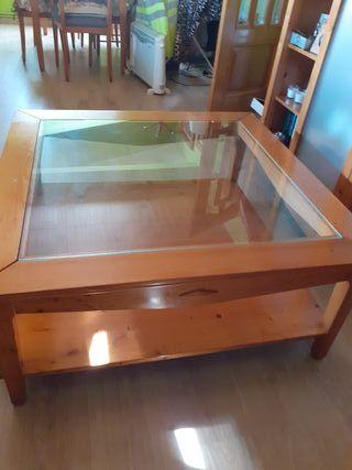 mesa madera de centro