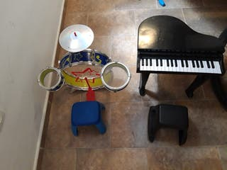 piano y batería no tiene los palos