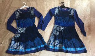 Dos vestidos Desigual niña