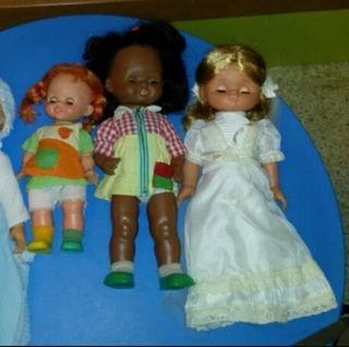 Muñeca de comunión años 80