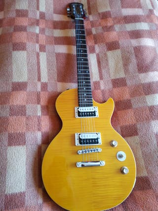 Guitarra + amplificador Epiphone