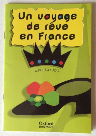 Libro en francés, nivel principiante.