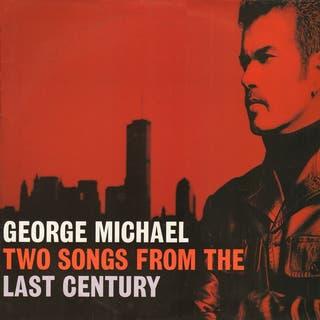 George Michael two songs from vinilo muy raro