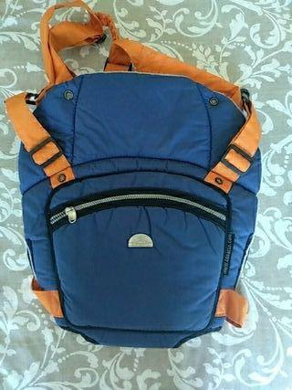 mochila porteadora o mochila portabebe
