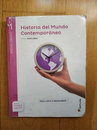 Libro de Historia 1° de Bachillerato