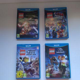 JUEGOS WII U LEGO