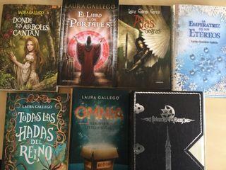 Libros literatura fantastica de Laura Gallego