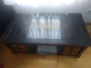 Mesa salón con Cristal