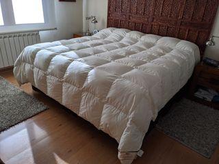 Edredón nórdico 90% plumón camas 180cm o 150cm