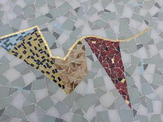 Taula vintage Mesa mosaico años 50