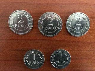 Euros en prueba
