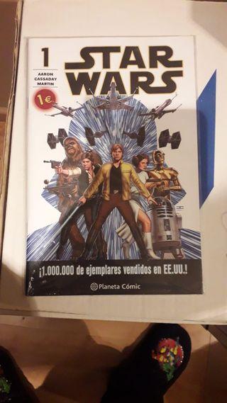Star Wars, Darth Vader, Princesa Leia numeros 1