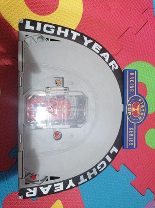 circuito portátil rayo McQueen