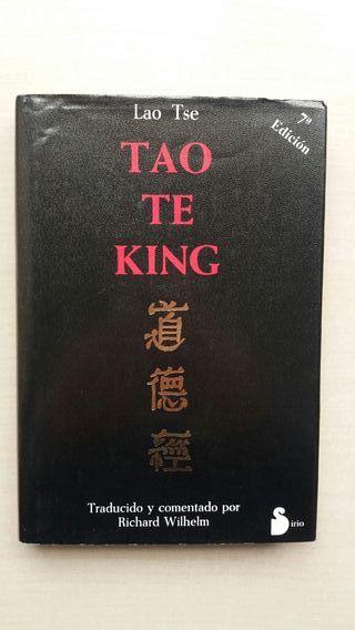 Libro Tao te King. Lao Tse.