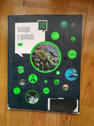 Libro Biologia y Geologia 1° Bachillerato