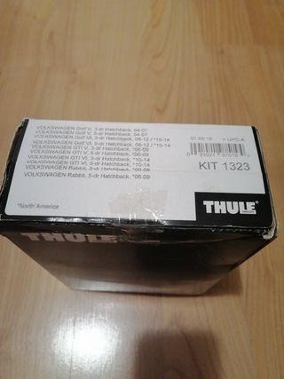 Thule kit 1323 golf 5 y 6 rapid