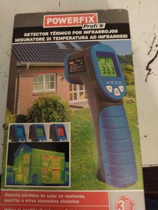 Detector de fugas de calor y entradas de aire frio