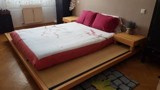 Cama japonesa tres tatamis