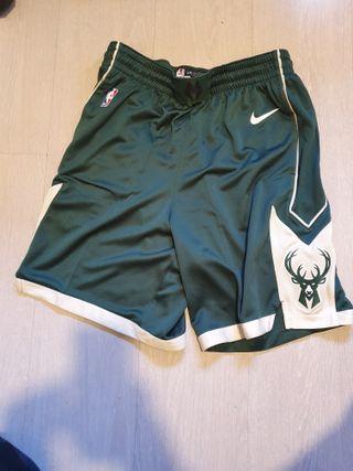 Pantalon oficial NBA Milwaukee Bukks Nike