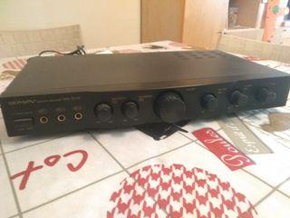 Amplificador para karaoke con altavoces