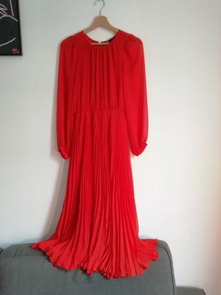 Vestido midi, Zara, Talla S
