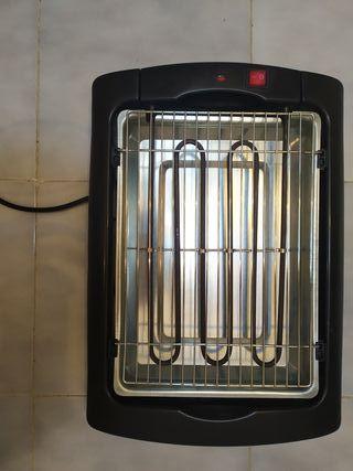 Barbacoa electrica y grill