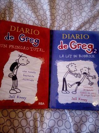 libros de diario de Greg