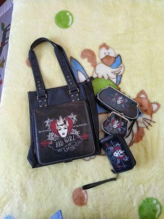 Conjunto bolso y accesorios Disney