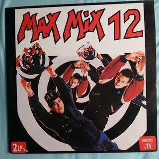 DISCO VINILO MAX MIX 12 LP ALBUM ITALO MEGAMIX