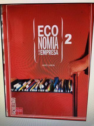 Se vende libro economía segundo bachillerato