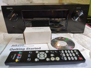Amplificador AVR denon 2113
