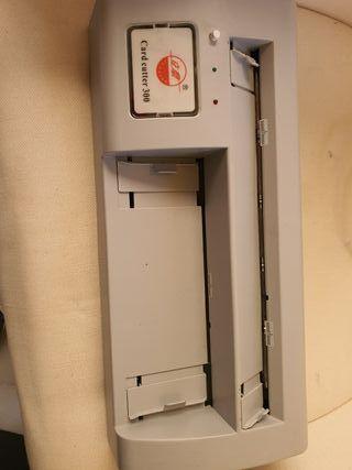 Máquina cortadora de tarjetas de visita eléctrica
