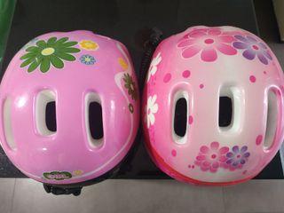 Cascos de bici de niña