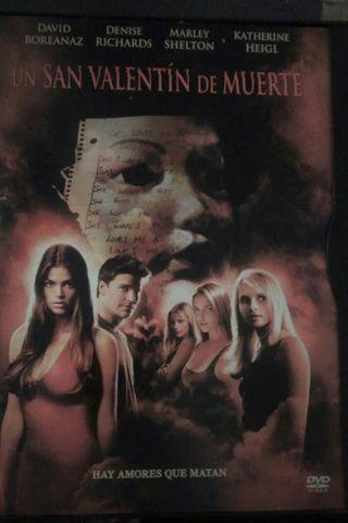 Lote de películas de miedo en DVD. Disfruta viendo