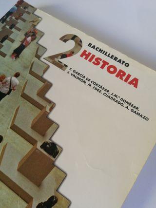 Libro Historia segundo bachillerato