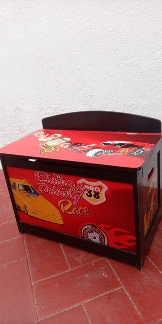Baúl infantil madera