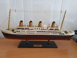 Maqueta antigua titanic 1912