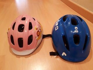 casco bici o patin niños