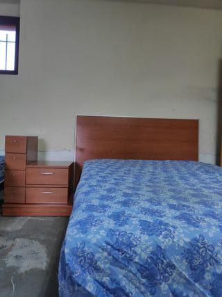 Conjunto armarios y cama matrimonial