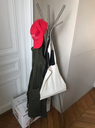 Porte manteaux inox