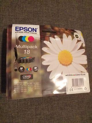 Cartuchos tinta Epson multipack 18